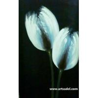 Wholesale 100% Handmade Flower Decoration Oil Painting On Canvas from china suppliers