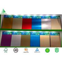 Wholesale 18mm Kitchen cabinet grade aluminium sheet faced mdf from china suppliers