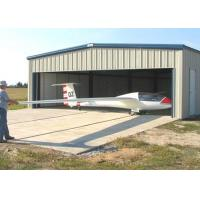Wholesale Movable Light Steel Structure Hangar , Wall / Roof Panel Aircraft Hangar Construction from china suppliers
