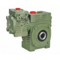 Wholesale Worm Gear Reducer Mini WPWEK With Motor Gearbox Aluminium / Cast Iron Housing from china suppliers