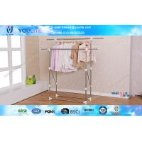 Wholesale Balcony Space Saving Collapsible Clothes Rack / Folding Clothing Racks and Stands from china suppliers