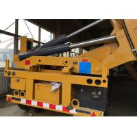 Quality 37 Tons Container Side Loader Truck Mounted Crane Euro 2 6 - 13m Length for sale
