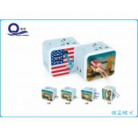 Wholesale 2 USB Output Universal Travel Adapter Charger For Mobile Phone Quick Charger from china suppliers