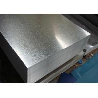 Wholesale Building Materials Zinc Coated Gi Steel Sheet Customized 600 - 1250 MM Width from china suppliers