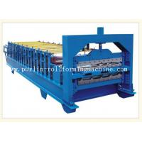 Wholesale 0.3mm - 0.8mm Color Steel , 12Mpa Roof Double Layer Roll Forming Machine from china suppliers