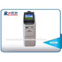 Wholesale Floor Standing Multi Currency Coin Counting Kiosk With Cash Acceptor And Bank Card Reader from china suppliers