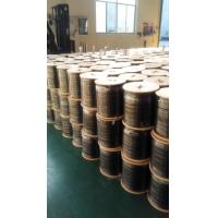 Wholesale CATV RG6 Tri Shield Coaxial Cable 75 ohm Drop Cable IEC Standard PVC Jacket from china suppliers