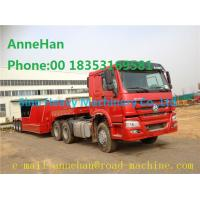 Wholesale 3 Axles Equipment Low Bed Trailer Q235 Cabon Steel With Fuwa Brand Axles from china suppliers