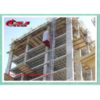 Wholesale 63m/Min Dobule Cabin Rack And Pinion Elevator Buck Hoist For Construction from china suppliers