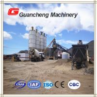 Wholesale Trailer Mounted Mobile Concrete Batching Plant 60 mm Max aggregate size from china suppliers