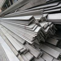 Wholesale Heat Resistant Stainless Steel Angle Bars Grade 310S Hot Rolling SS Angles 310 For Boiler from china suppliers