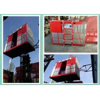 Quality 34m/Min Industrial Elevator Lift For Passenger And Material With Double Cages for sale