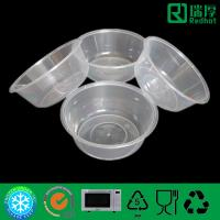 Round PP Feature Microwave Takeaway Plastic Food box 625ml