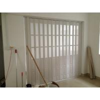 Wholesale Custom Accordion Folding Doors Interior With Hard - Joint Connection from china suppliers