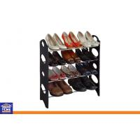 Wholesale Living Room Furniture 12 Pairs Over Shoe Storage Shelves Outdoor Black from china suppliers