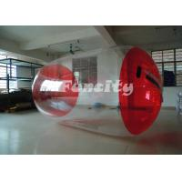 Wholesale Red And Transparent Inflatable Water Roller Water Walking Roller from china suppliers
