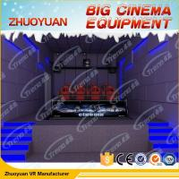 Wholesale Shooting Game Simulator 7D Movie Theater 12 Seater With Electric / Back Poking from china suppliers
