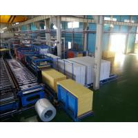 Wholesale Foaming Sandwich Panel Production Line  With PU Forming Density 40 kg / m3 from china suppliers