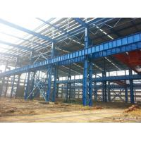 Wholesale Heavy Structural Steel Frame Construction For Warehouse Convenient Assembly from china suppliers