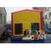 Wholesale Classical Module Jumps Inflatable Bouncer House With Different Banner 13x13ft from china suppliers