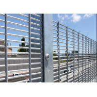 China Hot Dipped Galvanized High Security Metal Fencing( mesh size 12.7mmX76.2mm) on sale