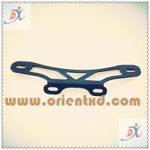 Wholesale Black Spraying Steel Sheet Metal Fabrication Metal Bracket from china suppliers