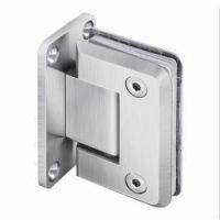 Wholesale 90° Door Hinge/Wall to Glass Offset Back Plate, Made of Stainless Steel with PSS/SSS/TI Finish from china suppliers