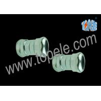 Quality Zinc Die Cast EMT Compression Coupling , EMT Conduit Fittings for sale