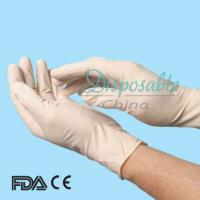 Wholesale Sterile disposable latex surgical glove, cheap disposable latex surgical glove from china suppliers