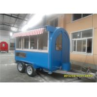 Wholesale Mobile Kitchen Trailer Food Truck Trailer With Multifuction Kitchen Equipments from china suppliers