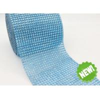 Wholesale Plastic Rhinestone Mesh Trim Imitation Rhinestone Mesh Wrap Roll from china suppliers