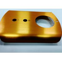 Quality Brushed Finish Metal Parts Machining Stamping With CNC Machining Process for sale