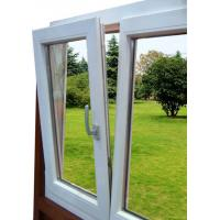 Wholesale Single-hung UPVC Window , Powder Coating For Commercial Building from china suppliers
