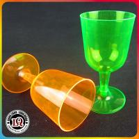 Wholesale Disposable 5.5oz PS Plastic Wine Glass for Party Using from china suppliers