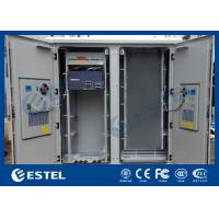 Wholesale IP55 Base Station Cabinet , Outdoor Data Cabinet With Rectifier System PDU from china suppliers