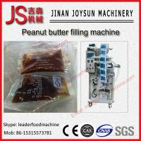 Buy cheap Electric And Pneumatic Peanut Butter Cup Filling And Sealing Machine 1.5KW from wholesalers
