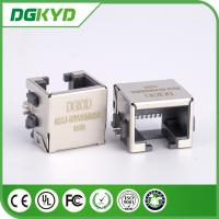 Wholesale Fully shield rj45 extra low profile LAN jack, 8p8c ETHERNET SMD from china suppliers