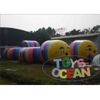 Wholesale Colourful Caterpillar Toy Inflatable Sport Game Worm Tunnel Maze Games For Kids from china suppliers