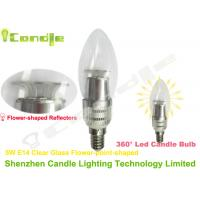 Wholesale Oval Shape 5w E14 High Lumen LED Candle Bulb With SMD 2835 Epistar or Samsung Chip from china suppliers