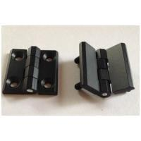 Buy cheap Zinc Alloy Cabinet Hinges 40*40 50*50 60*60 black powder coated Door Hinge with 180 degree from wholesalers