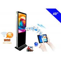 Wholesale 4K Resolution WiFi Digital Signage Display , Free Standing Digital Signage LCD from china suppliers