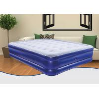 Quality Durable Heavy Duty Twin Size Air Bed , Mid Elevated Air Mattress Phthalate Free for sale