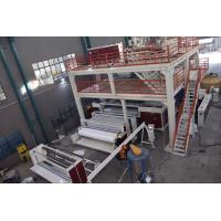Wholesale 4200mm Wide Nonwoven Fabric Making Machine ,PP Spunbond Non Woven  Production Line from china suppliers