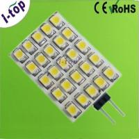 Wholesale Warm White Dimmable 25pcs 3528SMD G4 LED Lamps for Recessed Lighting 12V 125 Lumens from china suppliers