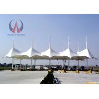 Wholesale Customized Size White Cover Backyard Sail Shades , Waterproof Wind Sail Sun Shade from china suppliers
