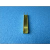 Wholesale 25mm*15mm C3800 Copper Alloy U Shape and Brass Extrusion U Channel from china suppliers