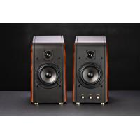 Wholesale Wooden Box 2.0 Channel Computer Multimedia Speakers , Classic High End Multimedia Loudspeaker from china suppliers