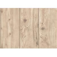 Wholesale Pvc Anti Static Wood Solid Color Removable Wallpaper , Contemporary Bedroom Wallpaper from china suppliers