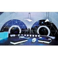 Quality Luxury Windproof 1000 People Geo Dome Tent Wedding Party Tent With Steel Tubes for sale