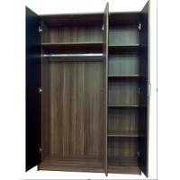 Wholesale bedroom furniture, ample wood wardrobe, classic black, #2005 from china suppliers